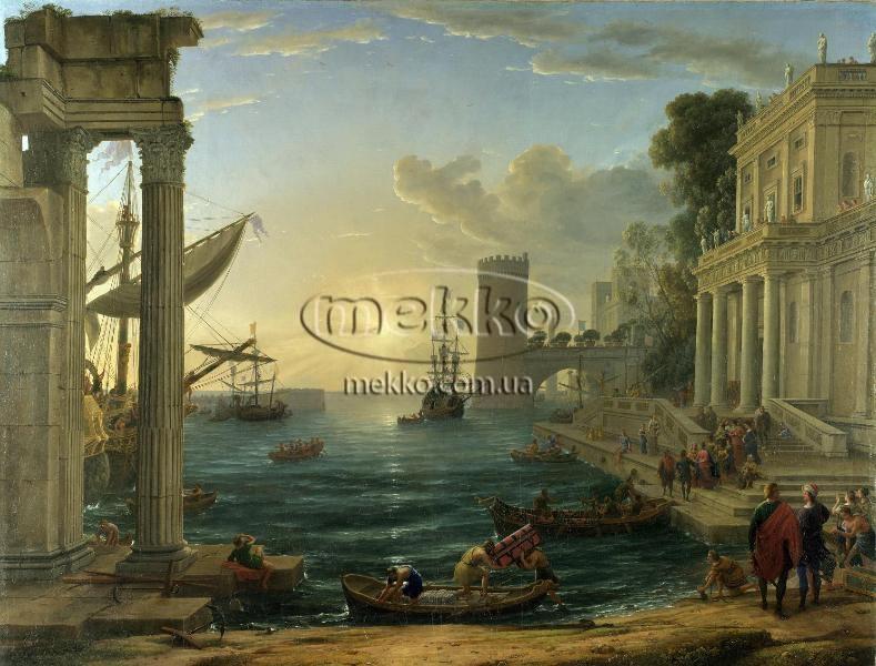 Картина Морський порт, Клод Верне  Кривий Ріг