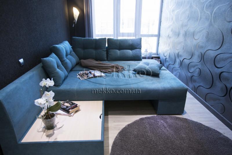 Кутовий диван з поворотним механізмом (Mercury) Меркурій ф-ка Мекко (Ортопедичний) - 3000*2150мм  Кривий Ріг-4