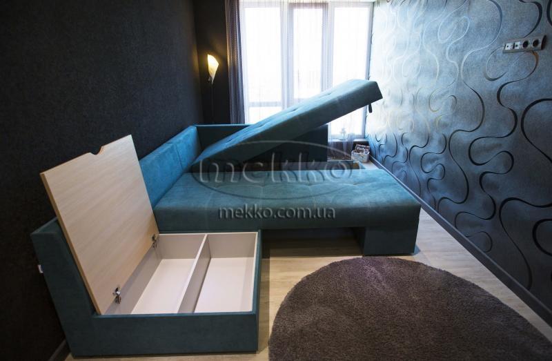 Кутовий диван з поворотним механізмом (Mercury) Меркурій ф-ка Мекко (Ортопедичний) - 3000*2150мм  Кривий Ріг-7
