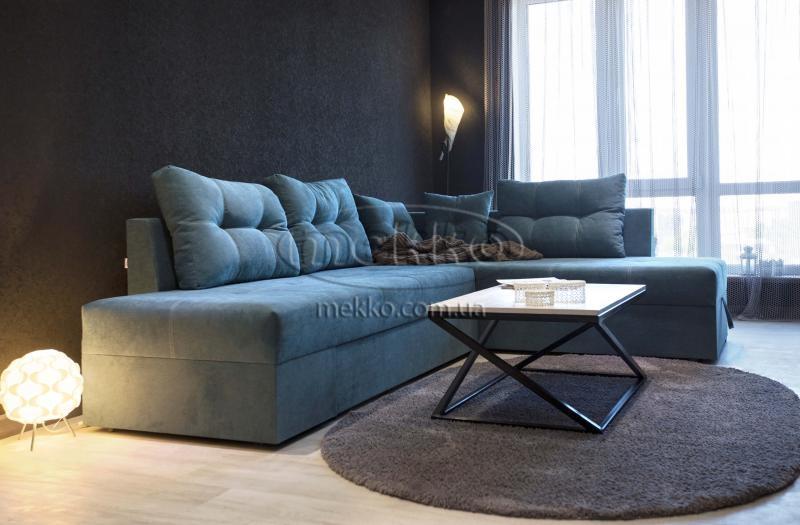 Кутовий диван з поворотним механізмом (Mercury) Меркурій ф-ка Мекко (Ортопедичний) - 3000*2150мм  Кривий Ріг