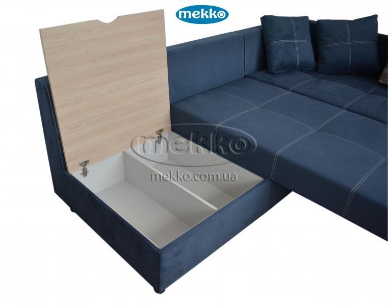 Кутовий диван з поворотним механізмом (Mercury) Меркурій ф-ка Мекко (Ортопедичний) - 3000*2150мм  Кривий Ріг-18