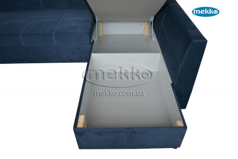 Кутовий диван з поворотним механізмом (Mercury) Меркурій ф-ка Мекко (Ортопедичний) - 3000*2150мм  Кривий Ріг-20