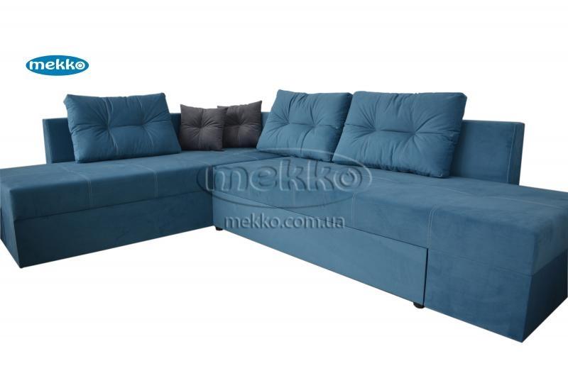 Кутовий диван з поворотним механізмом (Mercury) Меркурій ф-ка Мекко (Ортопедичний) - 3000*2150мм  Кривий Ріг-11