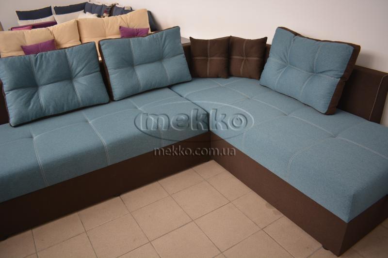 Кутовий диван з поворотним механізмом (Mercury) Меркурій ф-ка Мекко (Ортопедичний) - 3000*2150мм  Кривий Ріг-8