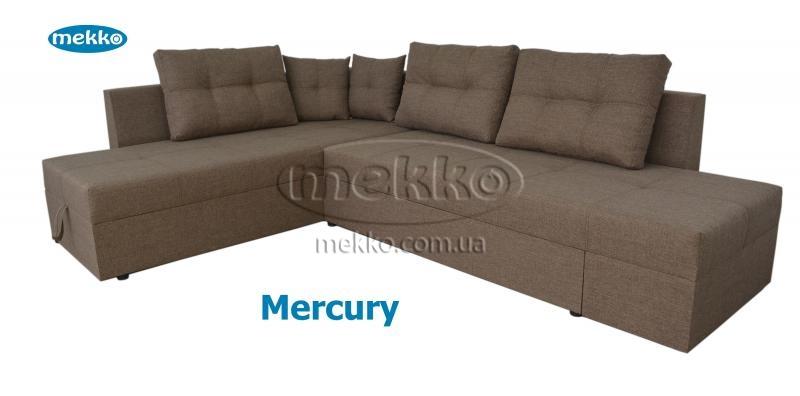 Кутовий диван з поворотним механізмом (Mercury) Меркурій ф-ка Мекко (Ортопедичний) - 3000*2150мм  Кривий Ріг-12
