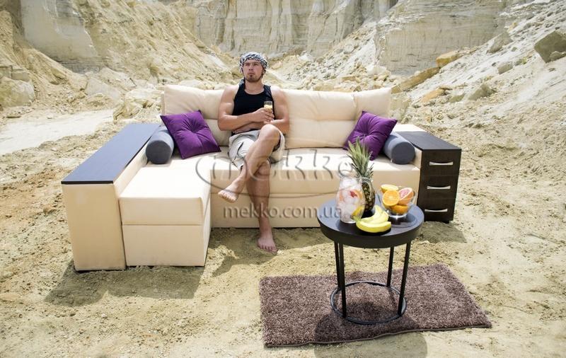 Ортопедичний кутовий диван Cube Shuttle NOVO (Куб Шатл Ново) ф-ка Мекко (2,65*1,65м)  Кривий Ріг-6