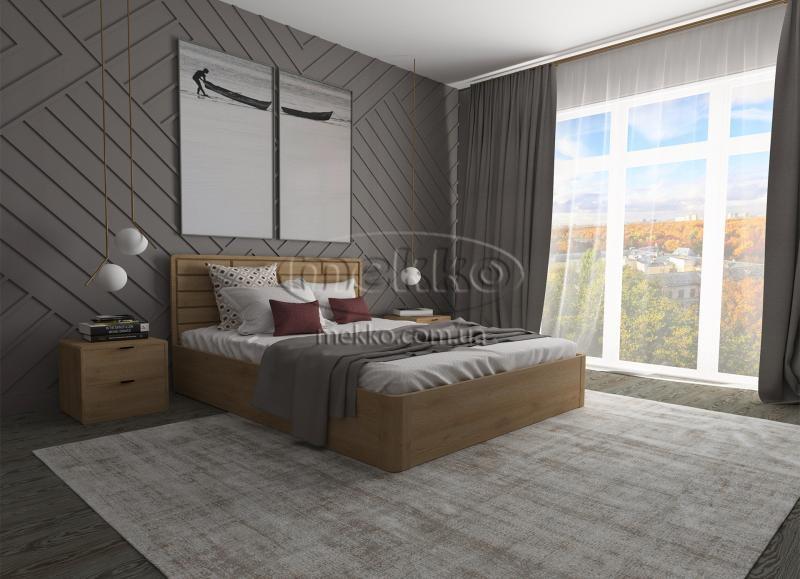 Ліжко Лауро з Підйомником (масив бука /масив дуба) T.Q.Project  Кривий Ріг