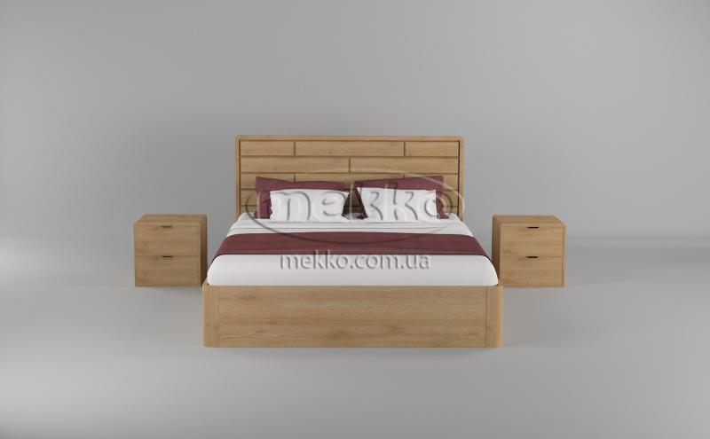 Ліжко Лауро з Підйомником (масив бука /масив дуба) T.Q.Project  Кривий Ріг-4