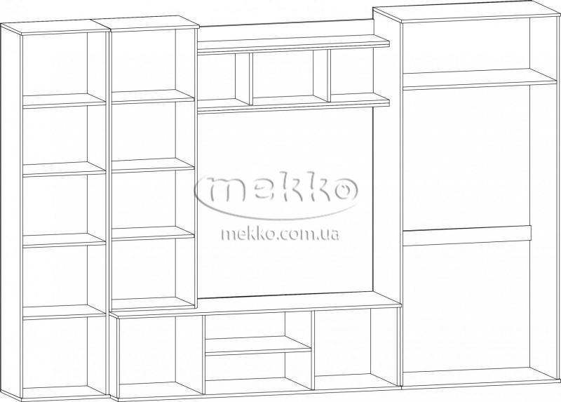 """Стінка """"Конго"""" Мебель-Сервіс  Кривий Ріг-4"""